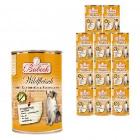Bubeck Wildfleisch mit Kartoffeln & Pastinaken 12x410g