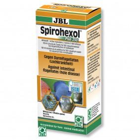 JBL SpirohexolPlus 250 Traitement contre la maladie des trous 100 ml