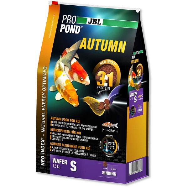 JBL ProPond Herbstfutter für Koi