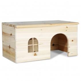 Holzhaus für Nager & Kleintiere