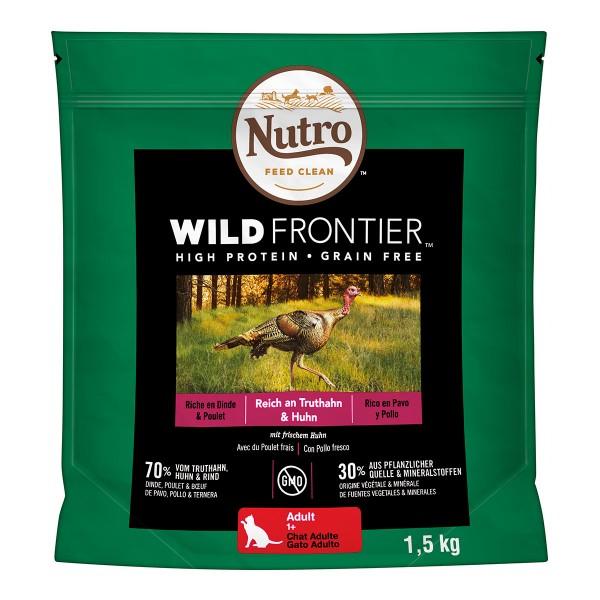 Nutro Adult Wild Frontier Reich an Truthahn & Huhn