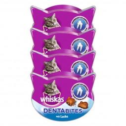 Whiskas Katzensnacks Dentabites mit Lachs 40g