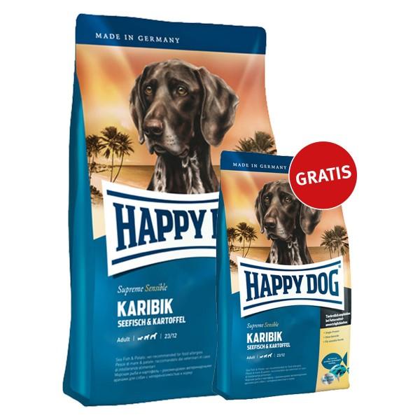 Happy Dog Surpreme Sensible Karibik 4kg + 1kg gratis