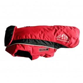 Wolters Skijacke Dogz Wear mit wasserdichtem RV in rot und schwarz