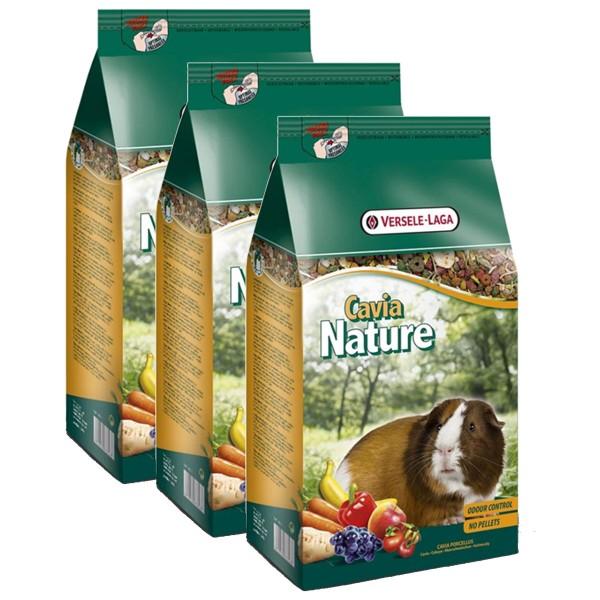 Versele Laga Nagerfutter Premium Cavia Nature 3x10kg