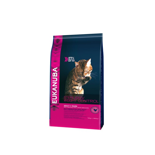 Eukanuba Katzenfutter Sterilised/Weight Control Adult