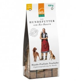 Defu Hundesnack Bio Pralines Truthahn 100g