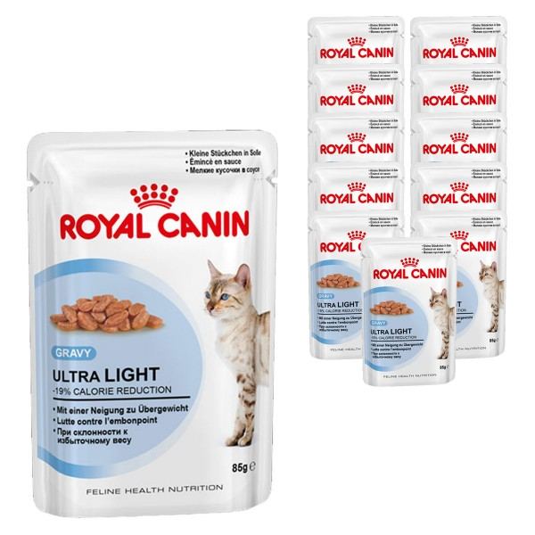Royal Canin Katzenfutter Ultra Light in Soße 12x85g