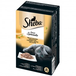 Sheba Sauce Speciale Helle Saucen Variation Multipack 8x85g