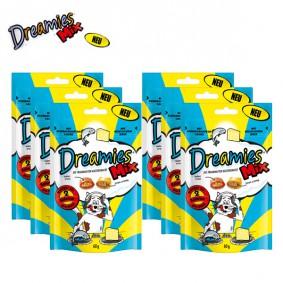 Dreamies Katzensnack- Mix mit Lachs & Käse 6X60g