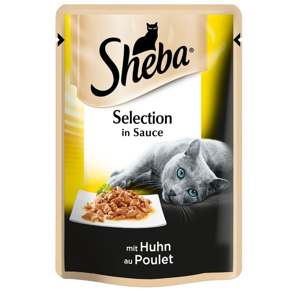 Sheba Selection in Sauce mit Huhn - 85g
