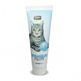 Grau Futterergänzung Cat Care Plus Paste Vitalität 100g