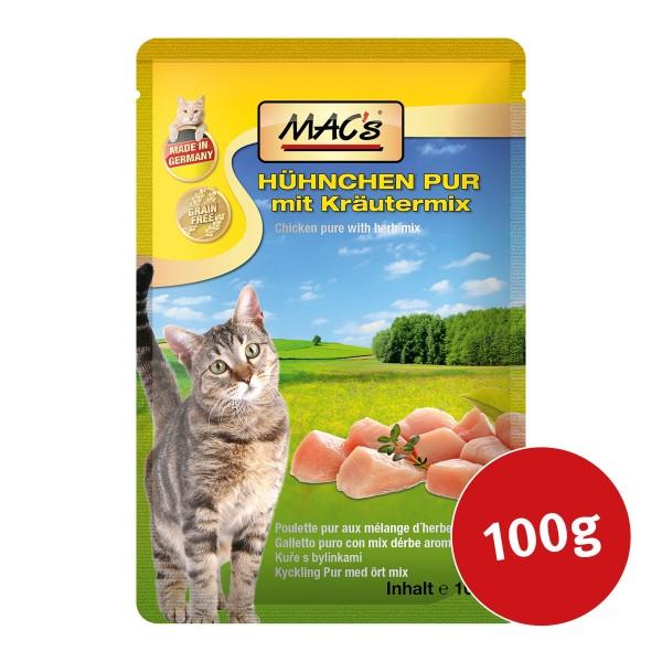 MAC's Cat Katzenfutter Pouchpack Hühnchen Pur