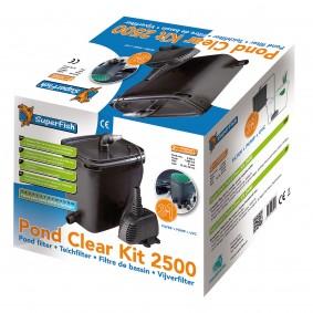 SuperFish PondClear Set Teichfilter 2500 5W mit UVC Filterung und Pumpe