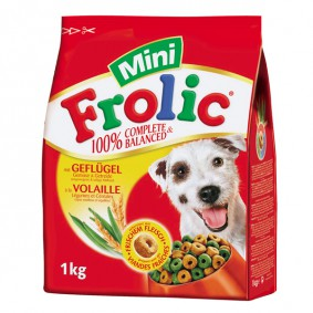Frolic 100% Complete & Balanced Mini mit Geflügel 1kg