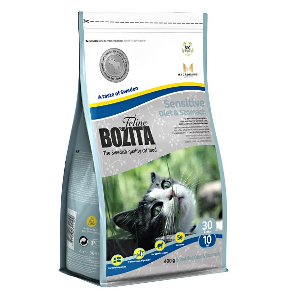 Bozita Feline Diet & Stomach-Sensitive