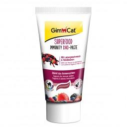GimCat Superfood Immunity Duo-Paste mit Lebergeschmack und Waldbeeren