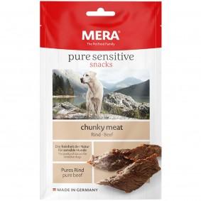 MERA pure sensitive snacks chunky meat Rind