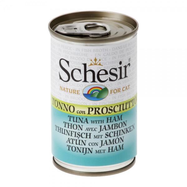 Schesir Cat Thunfisch und Schinken