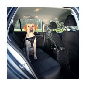 Filet de sécurité de voiture en nylon noir