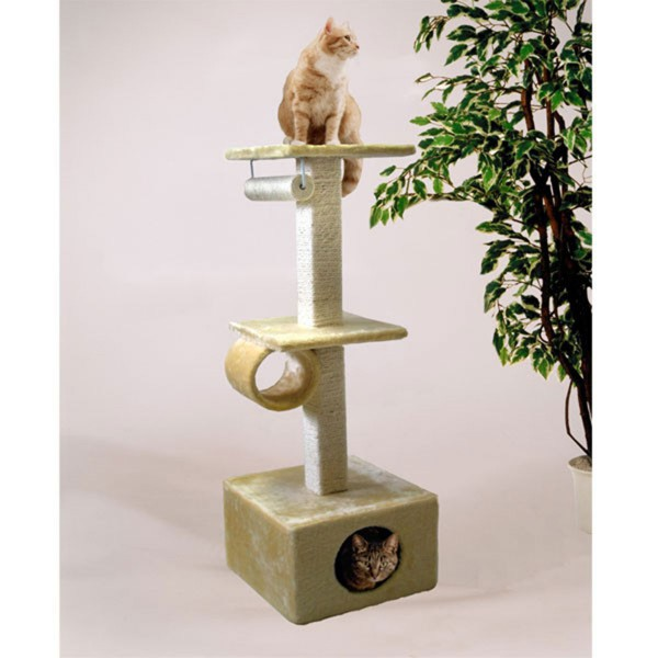 Silvio Design Cats World Kratzbaum beige