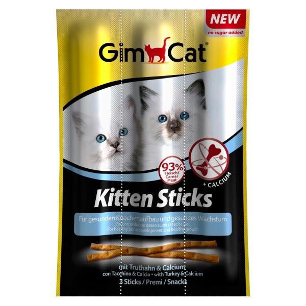 GimCat Kitten Sticks mit Truthahn & Calcium
