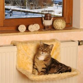 Silvio Design Heizkörperliege für Katzen