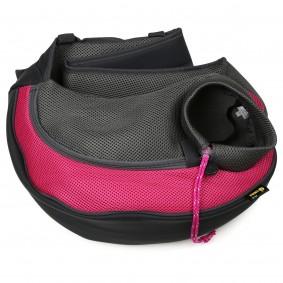 ebi Crazy Paws Sarah přepravní taška, růžová