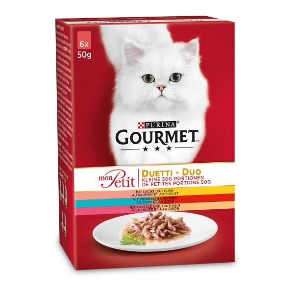 Gourmet Mon Petit Duetti Fleisch und Fisch Multipack
