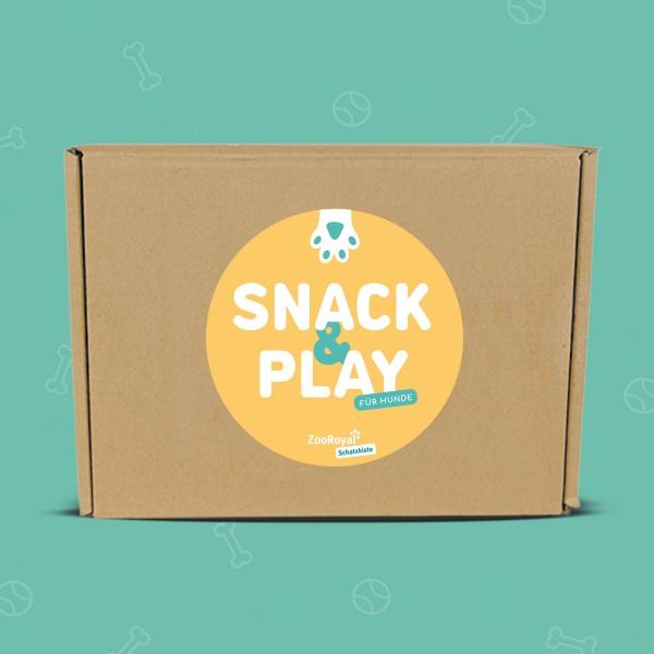ZooRoyal Schatzkiste Hund - Snack & Play Edition