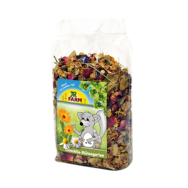 JR Farm Chinchilla-Blütengarten 50g