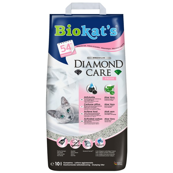 Biokat's Klumpstreu Diamond Care Classic Fresh 10 L
