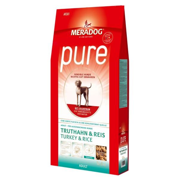 Mera Dog Pure Croquettes dinde & riz pour chiots