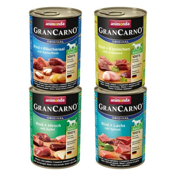 Animonda GranCarno Original Adult gemischtes Megapack Nr.3 12x400g