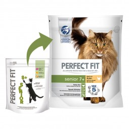 Perfect Fit Katzenfutter Senior 7+ reich an Huhn 750g