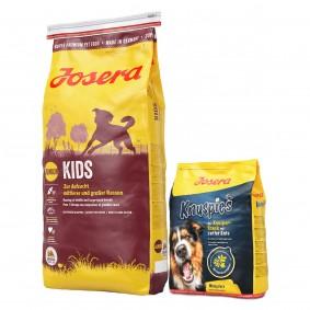 Josera Kids 15kg + Knuspies 900g gratis