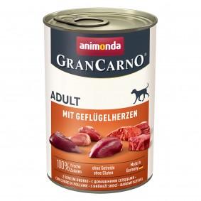 Animonda GranCarno Adult mit Geflügelherzen