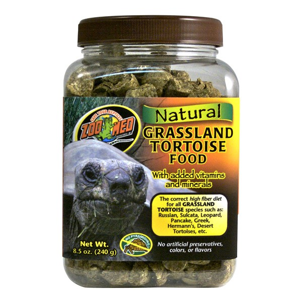 Zoo Med Natural Grassland Tortoise Food