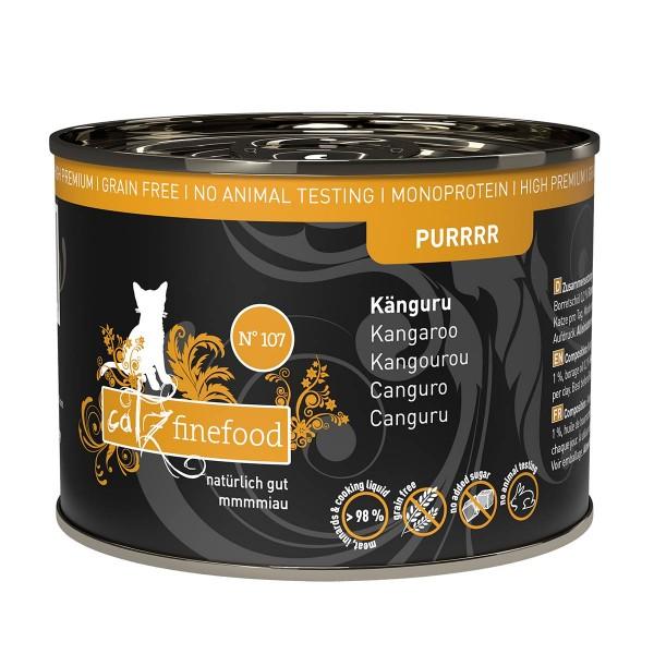 catz finefood Purrrr No.107 Känguru