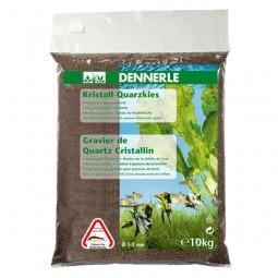 Dennerle Kristall Quarzkies Dunkelbraun 10kg