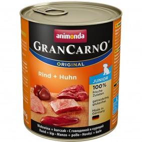 Animonda Nassfutter GranCarno Junior mit Rind und Huhn