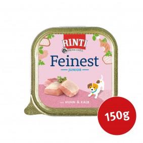 Rinti Hunde-Nassfutter Feinest Junior Huhn & Kalb 150g