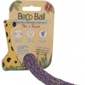 Warmako Beco Pets Hundeball Ball mit Seil Blau - Klein Sale Angebote Kröppen