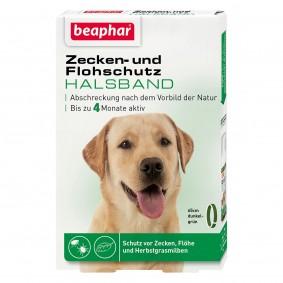 beaphar Zecken- und Flohschutz Halsband für Hunde 65cm
