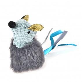 ZooRoyal myš se šantou kočičí, petrolejová