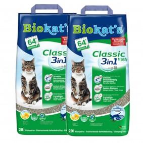 Biokat's Katzenstreu fresh 2x20l