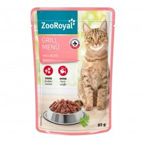 ZooRoyal grill menu s lososem