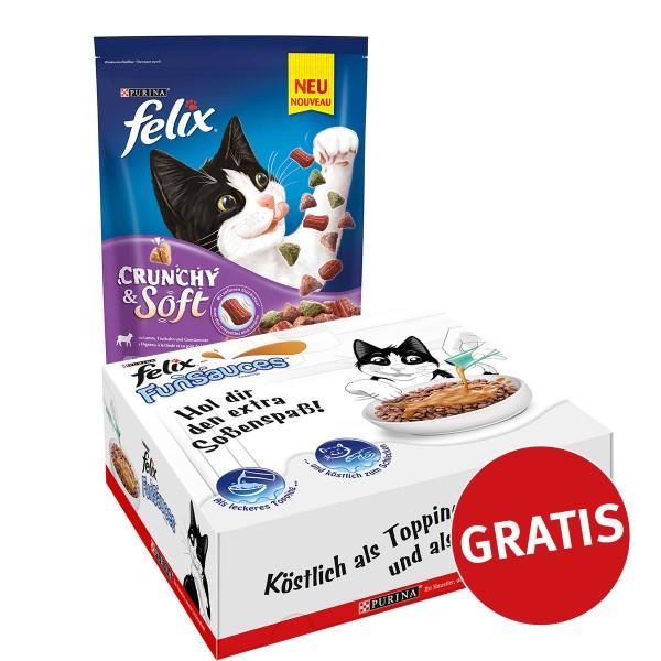 Felix Crunchy & Soft mit Lamm, Truthahn und Gem...