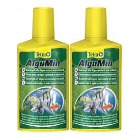 Tetra AlguMin  Algenbekämpfung Aquarium Pflege 2x500ml