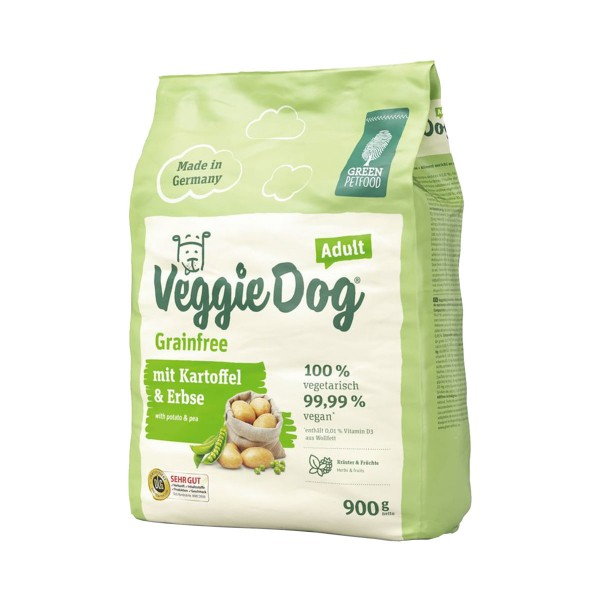 Green Petfood VeggieDog grainfree 5x900g